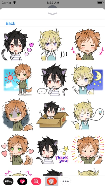 Anime Stickers Collection screenshot-3