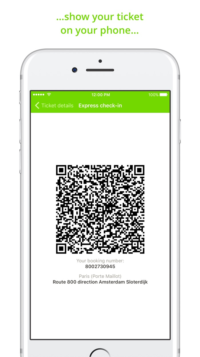 FlixBus - Bus Travel in Europe Screenshot