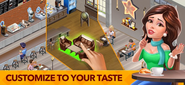 My Cafe: Recipes & Stories Screenshot