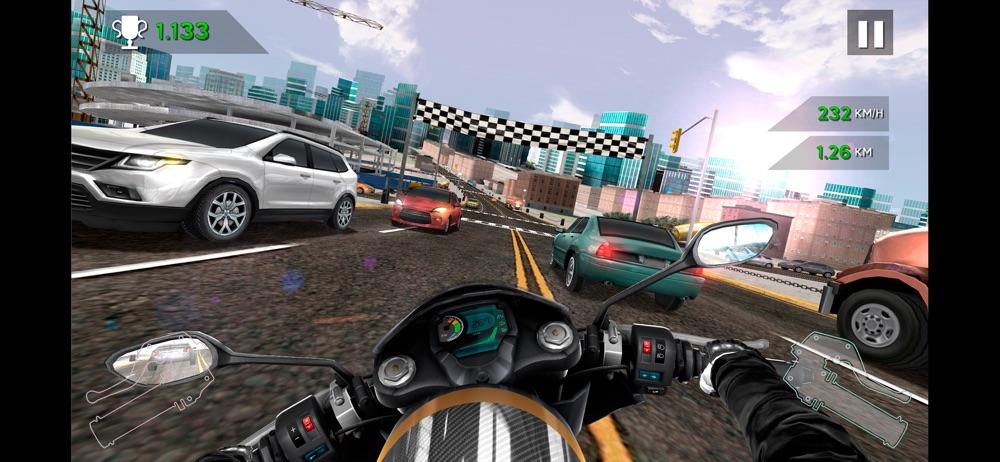 Moto Rider In Traffic hack tool