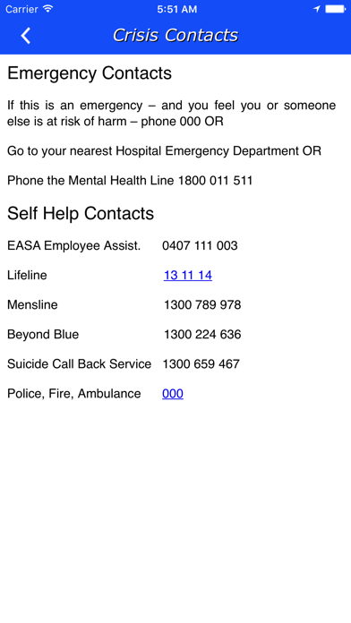 Employee Assistance Services screenshot three