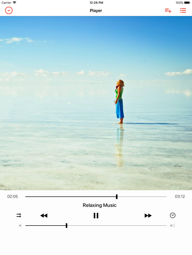 Cloud Music Player - Listener Screenshot