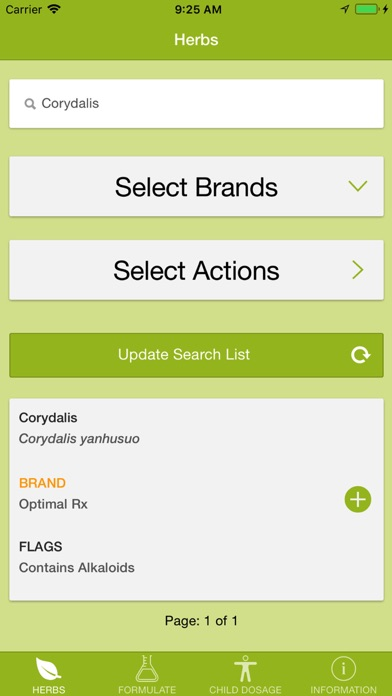 Herbal-Pro screenshot one