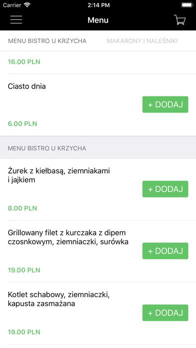 Bistro u Krzycha screenshot 2
