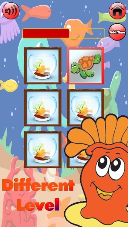 Aqua Match Memory Card Game screenshot-3
