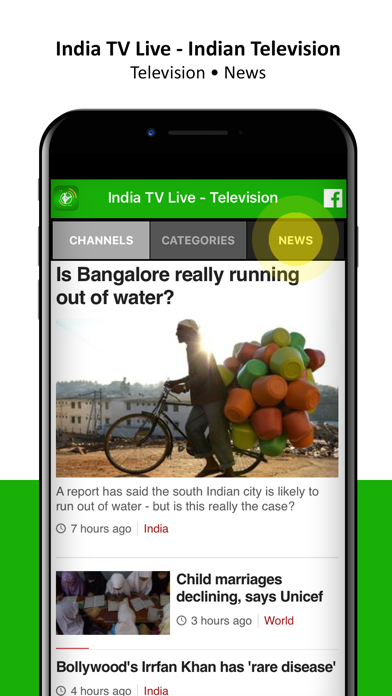 India TV Live - Television by Media Networks Group (iOS