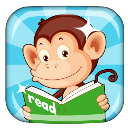 Monkey Junior: kids learn to read English, Spanish
