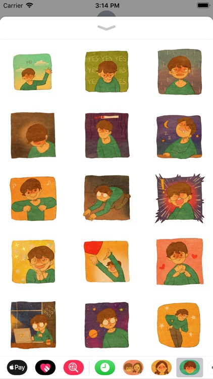 Puuung Animated Stickers: He
