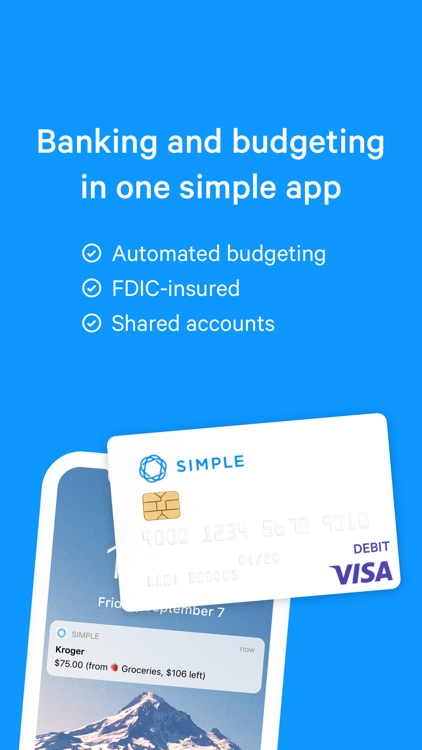 Simple - Better Banking
