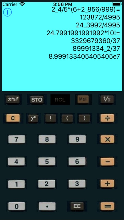 Fractions Calculator Lite