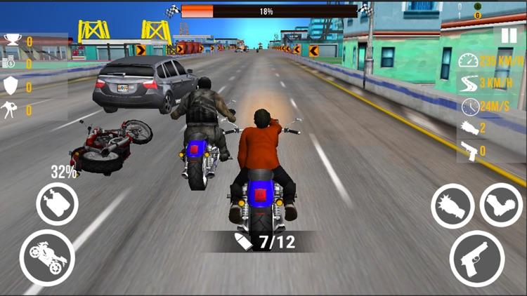 Extreme Bike Fight Race 3D screenshot-3