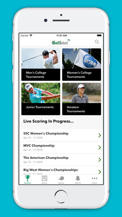 Golfstat Live Screenshot