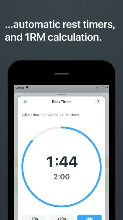 Strong Workout Tracker Gym Log screenshot-3