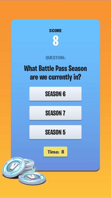Vbucks Quiz For Fortnite Answers For All Levels Android Ios Game