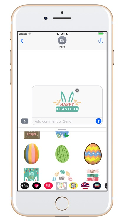 Happy Easter Day - stickers screenshot-4