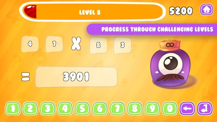 Monster Math: Test Math Skills