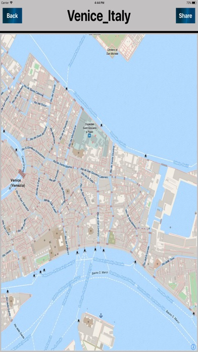Venice Italy Offline mapsのおすすめ画像2