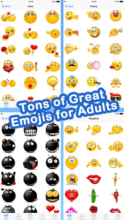 Emoji for Adult Texting screenshot-3