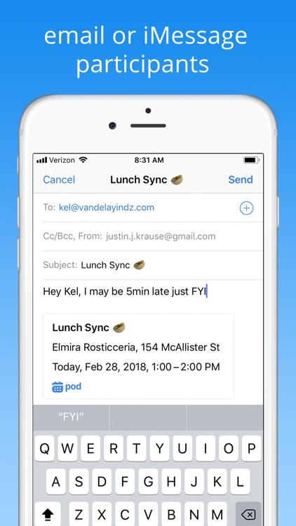 Pod - Calendar & Scheduling screenshot-7