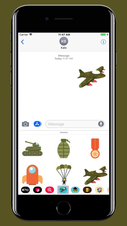 Military stickers screenshot-3