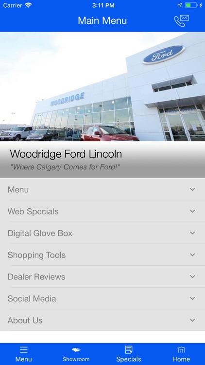 Woodridge Ford Lincoln MLink screenshot-3