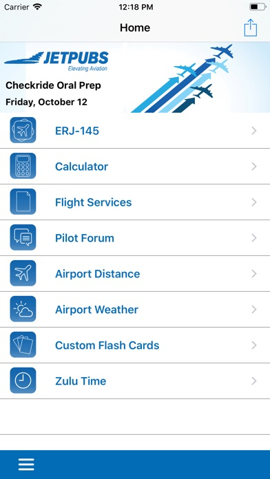 EMB-145 Study App Screenshots