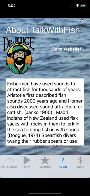 Talk With Fish On The App Store