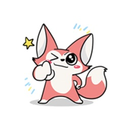 Foxie - Cao Lua Sticker