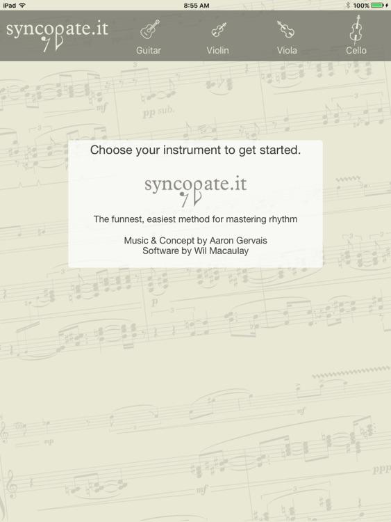 Syncopate.it Rhythm