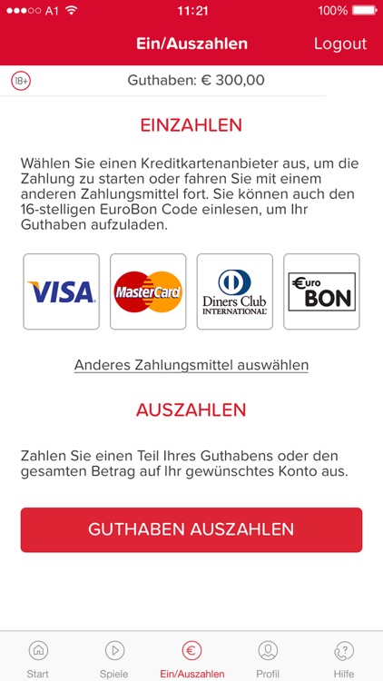 win2day: Casino, Lotto, Wetten screenshot-4
