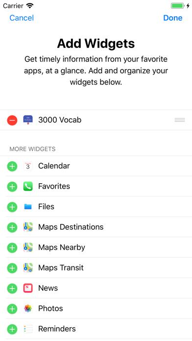 3000 Vocab -English Vocabulary screenshot one