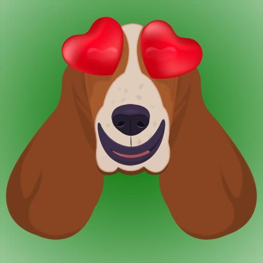BassetMoji - Basset Emojis