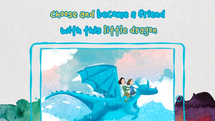 Breakfast with a Dragon Story tale kids Book Game screenshot-3