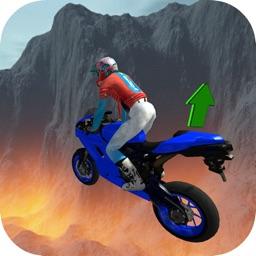 Motor Bike Stunt: Crazy Flying
