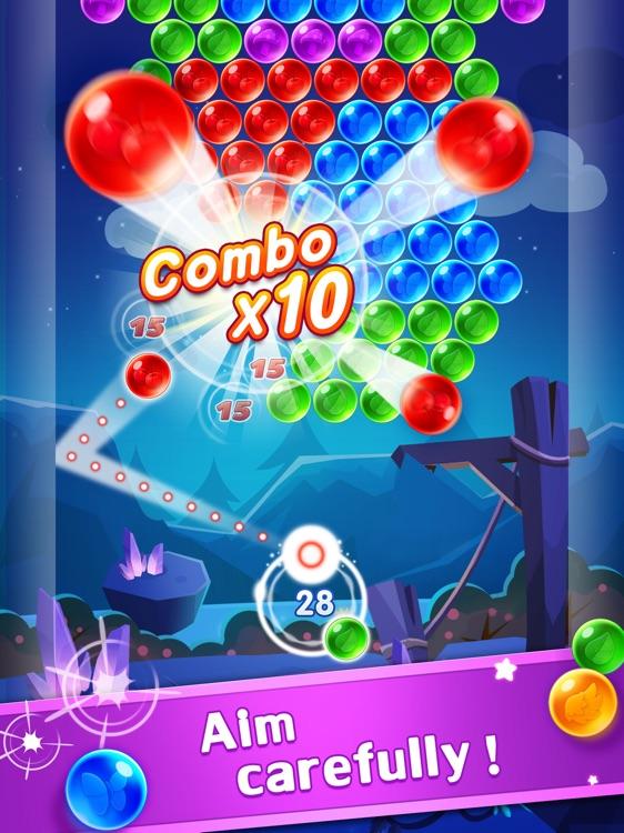Bubble Shooter Genies HD screenshot-3