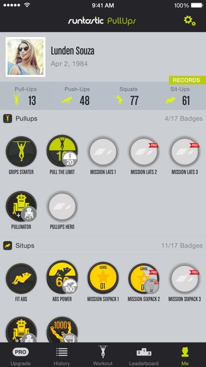 Pull-Ups Workouts & Trainer screenshot-4