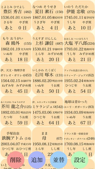 シンプル記念日メモ〜大切な人の誕生日や記念日のメモとして〜のおすすめ画像1