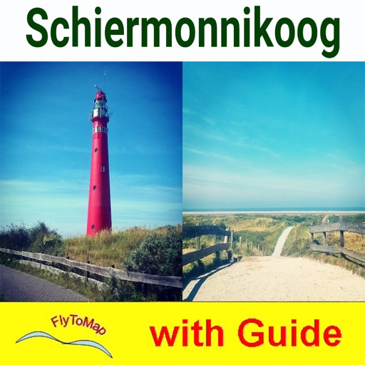 Schiermonnikoog NP GPS and outdoor map with guide