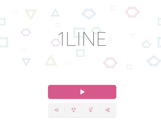 1LINE one-stroke puzzle game screenshot