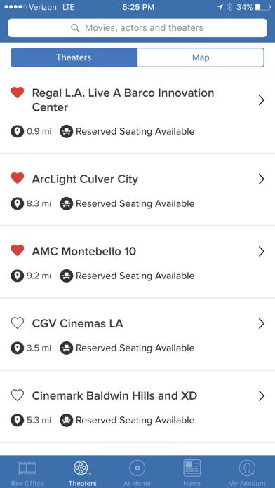Flixster - Showtimes + Tickets iPhone