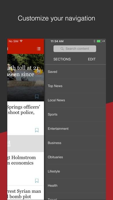 Sun Sentinel review screenshots