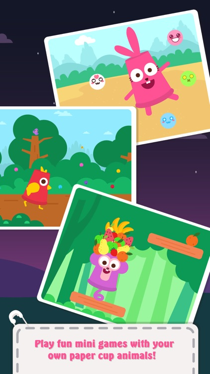 Paper Cup Animals screenshot-4