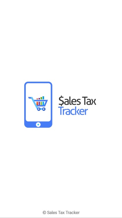 Sales Tax Tracker