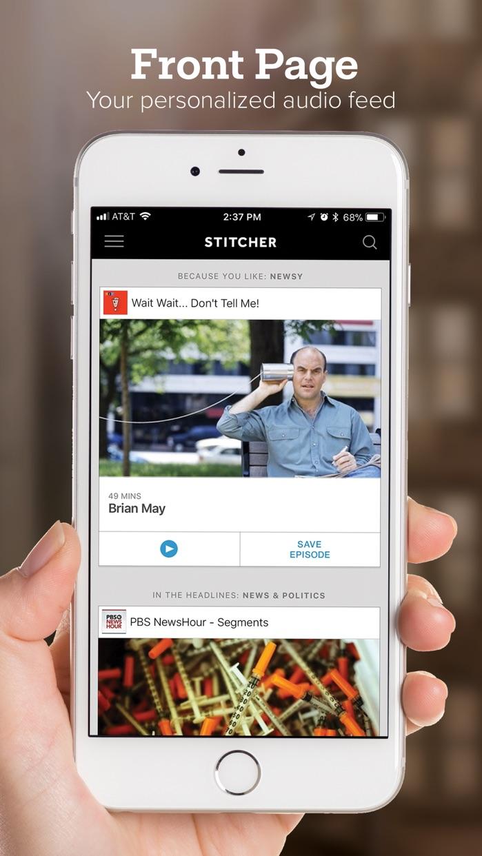 Stitcher for Podcasts Screenshot