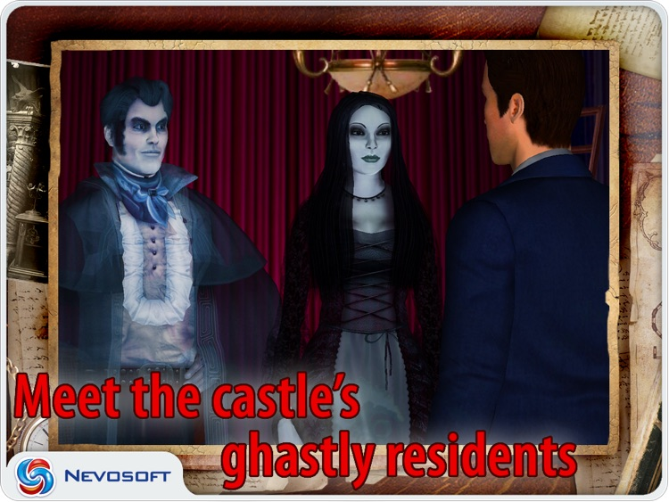 Vampireville HD lite: haunted castle adventure screenshot-3