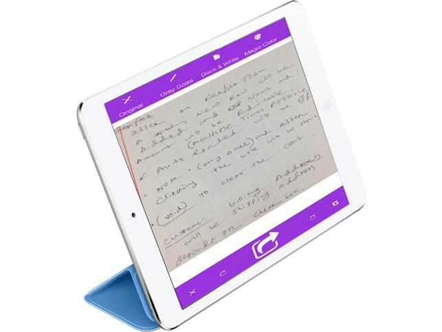 Smart document scanning Screenshot