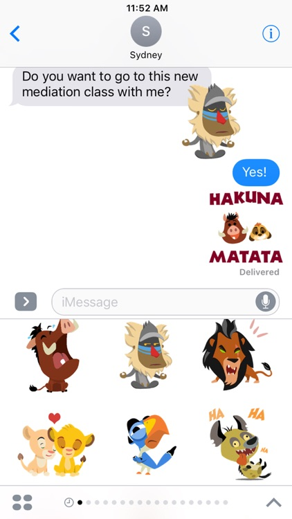 Disney Stickers: The Lion King screenshot-4