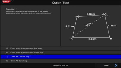 Interactive GCSE Mathematics 2 screenshot four