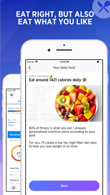 Fitwell Meal Planner & Gym App screenshot-3