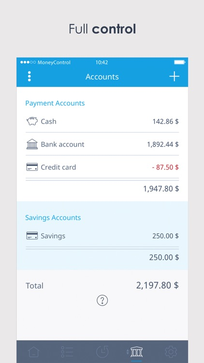 MoneyControl Spending Tracker screenshot-3